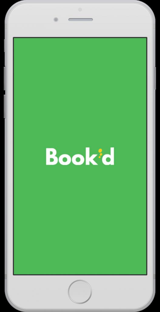 Book'd app logo